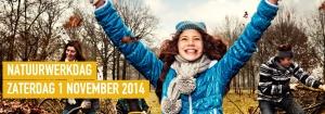 Banner Natuurwerkdag 2014