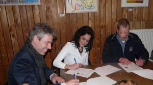 Ondertekening overeenkomst hertenkamp 1 28 01 2015