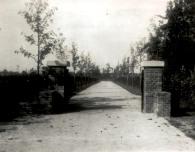 Boeremapark 1937 parkentree Molenkampsteeg nu Parkweg (foto P Oldenburger)