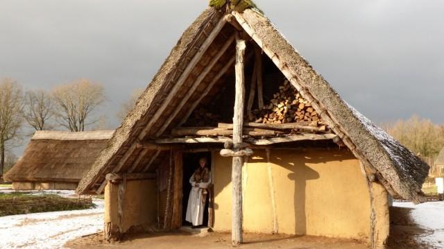Foto steentijdhuis